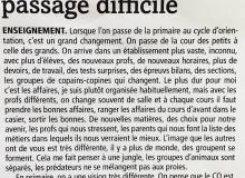Juillet 2017 - Création d'un journal La Gruyère